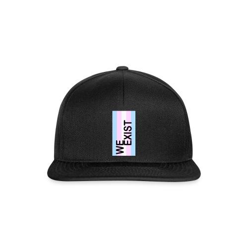 Trans - We Exist! - Snapback Cap