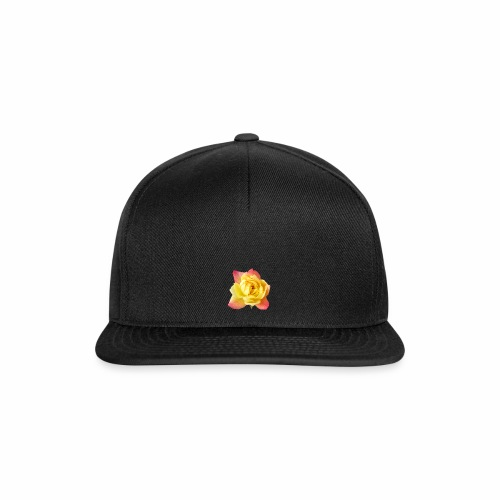 yellow rose - Snapback Cap