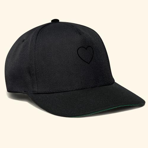heart 512 - Snapback Cap