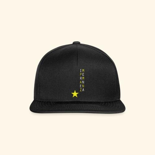 IMPERMANENZA - Snapback Cap