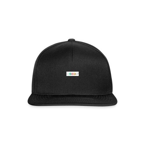 COTTON CANDY LOGO - Snapback Cap