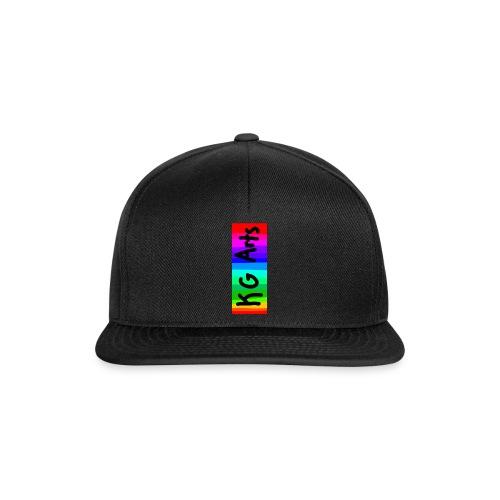 KG Arts Rainbow Banner - Snapback Cap