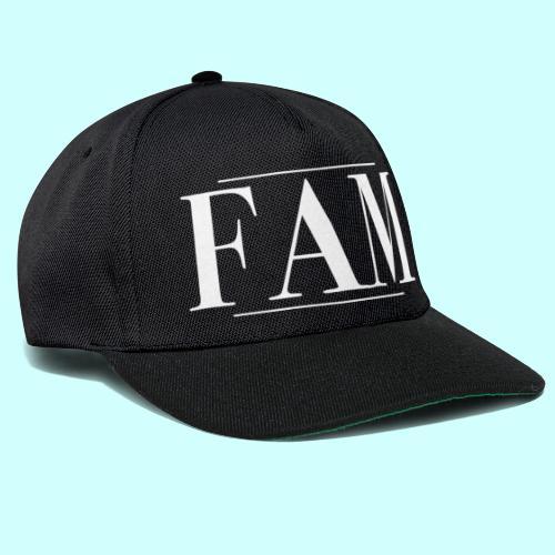 FAM merchandise #1 - Snapback Cap