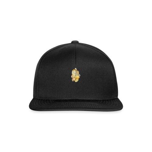 Bergkristall mit Granat - Snapback Cap