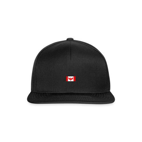 pixel canada flag - Snapback Cap
