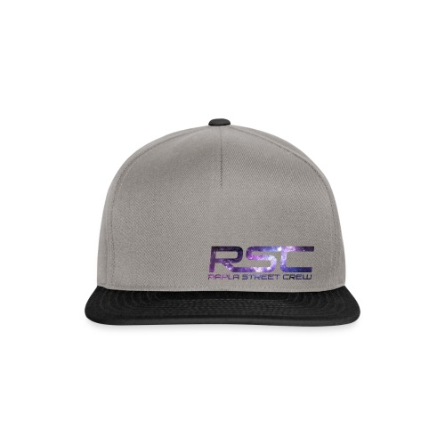 Rapla Street Crew Logo Galaxy - Snapback Cap