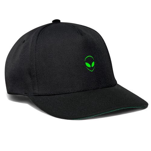 Alien Face Cool - Snapback Cap