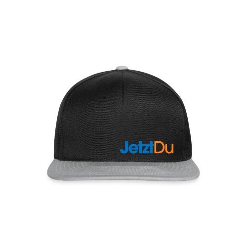 JetztDuLogo ArtWork2 - Snapback Cap