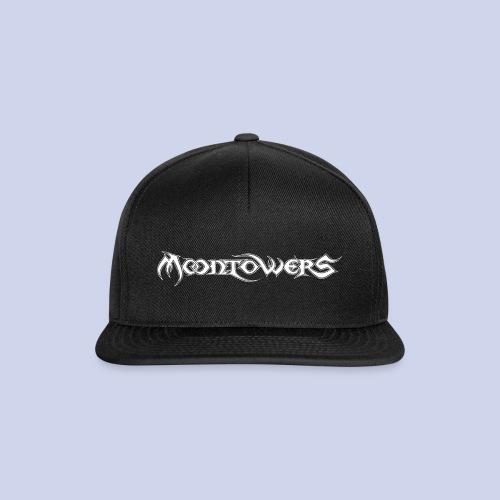 Moontowers-Logo-weiß - Snapback Cap