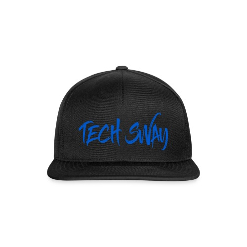Tech Sway Blue - Snapback Cap