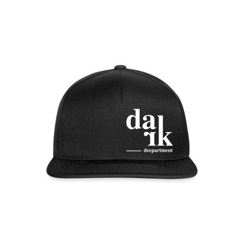 DARK Deepartment - Casquette snapback