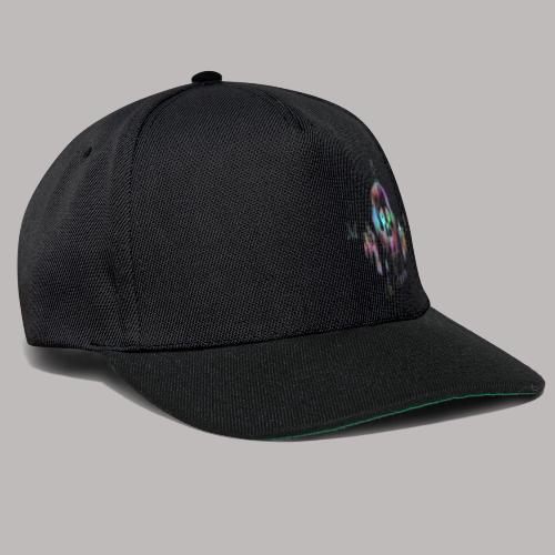 MB13 - skull - rainbow - thirteen - Snapback Cap