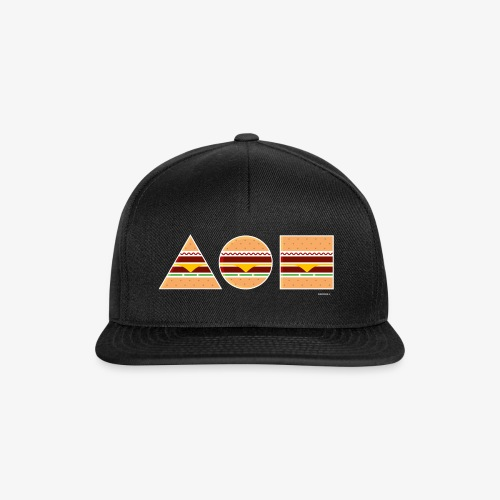 Graphic Burgers - Snapback Cap
