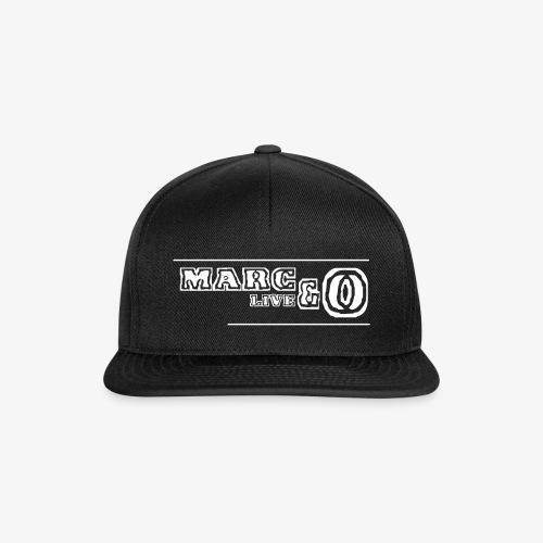 Marc&O_LivE schwarz - Snapback Cap