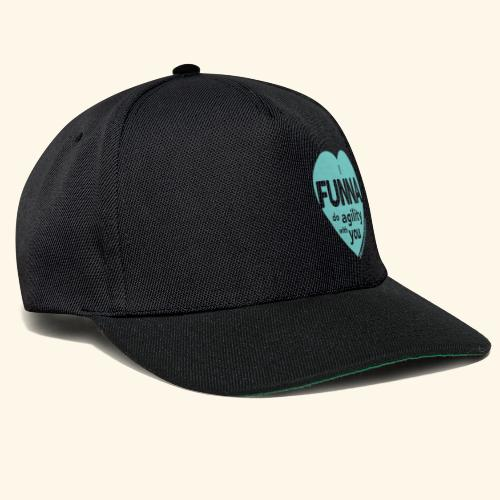 I FUNNA Do Agility With You! Turquoise - Snapback Cap