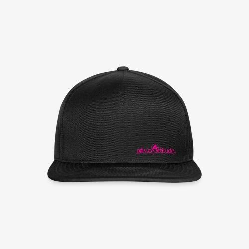 logo private pink - Casquette snapback