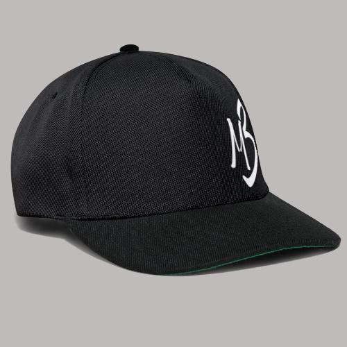MB 13 white - Snapback Cap
