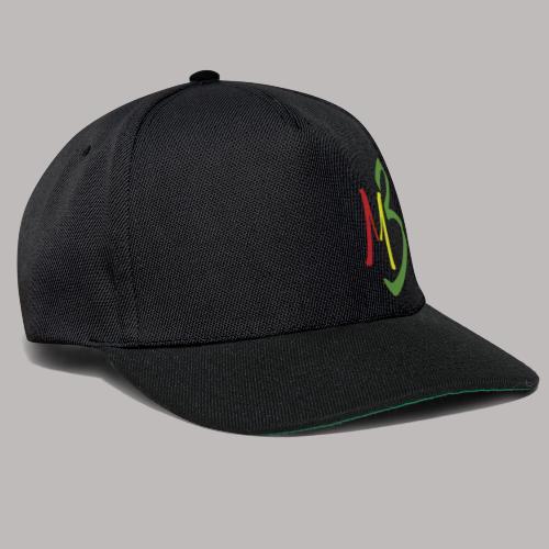 MB13 Logo rasta1 - Snapback Cap