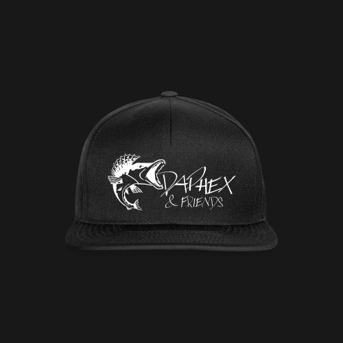DAPHEXandFRIENDS White - Snapback Cap