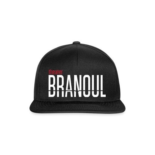 Branoul Logo rood wit - Snapback cap