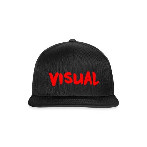 Visual red png - Snapback Cap