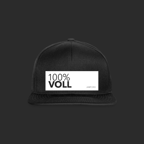 AMPERO 100%Voll - Snapback Cap