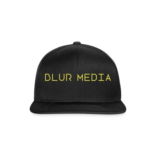 blur media text - Snapback-caps