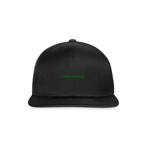 school of hardknocks ver 0 1 green - Snapback Cap