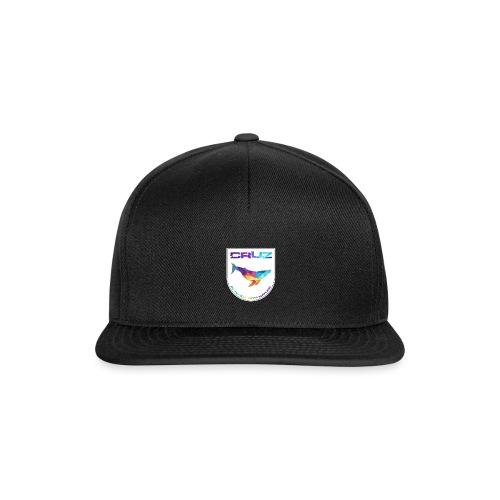 Logo 4 white gif - Snapback Cap