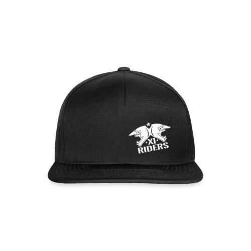 XIrider Logo weiß png - Snapback Cap