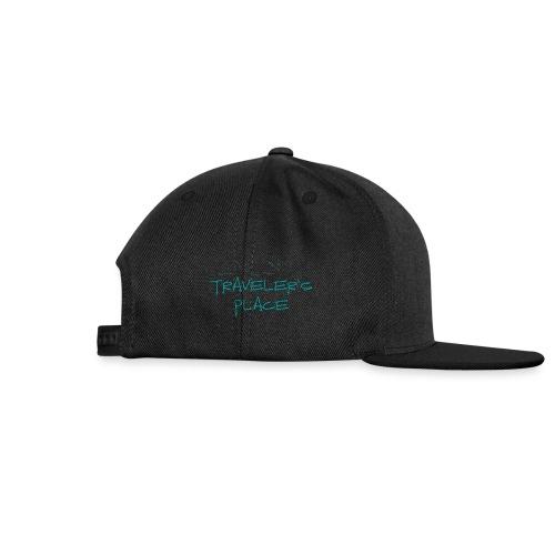 Cool Traveler's Place Palm Design - Snapback Cap