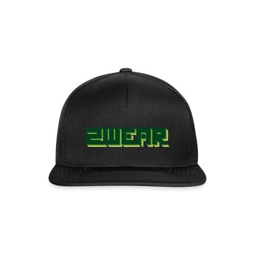 2wear Green Box Logo - Snapback Cap