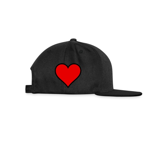 heart logo png - Snapback Cap
