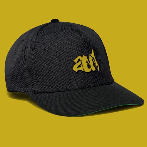 2001er Logos - Snapback Cap