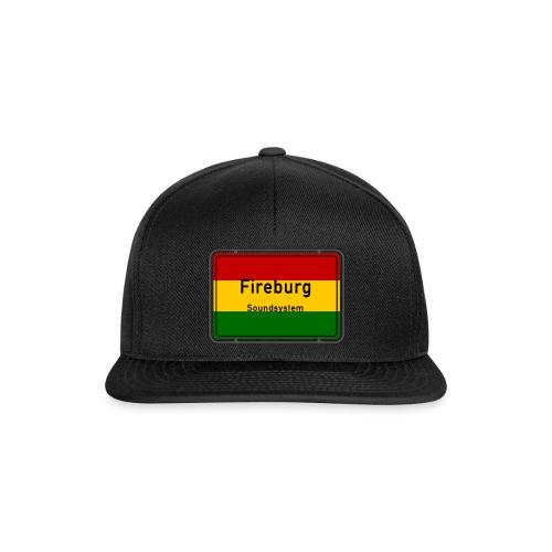 fireburg logo - Snapback Cap