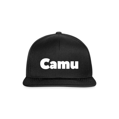 Camu Schrift png - Snapback Cap
