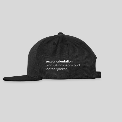 Sexual Orientation - Snapback Cap