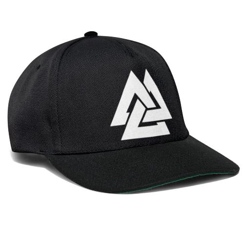 TRIANGLE WHITE - Snapback Cap
