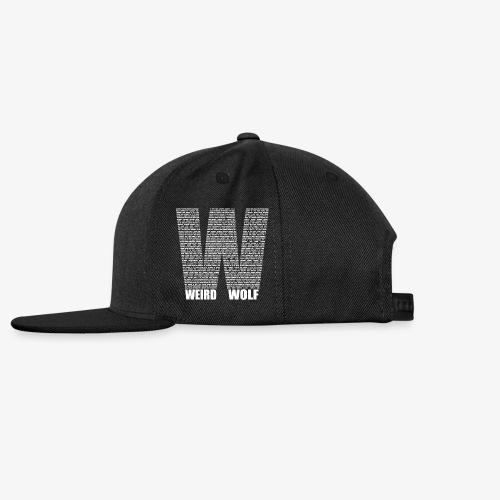 The Big W (White) - Snapback Cap