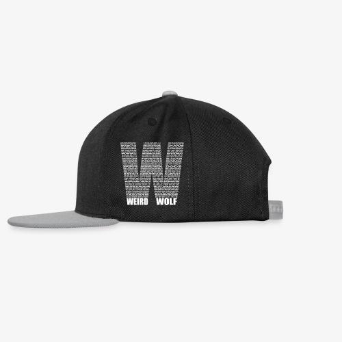 The Big W (White) - Snapback Cap