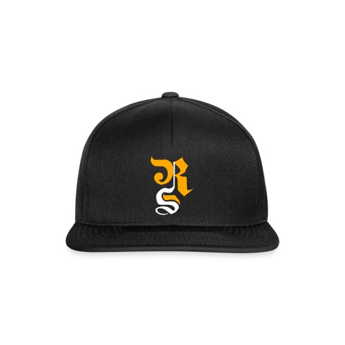 design 37508 125474326 RS Orange Weiss Logo Cap - Snapback Cap