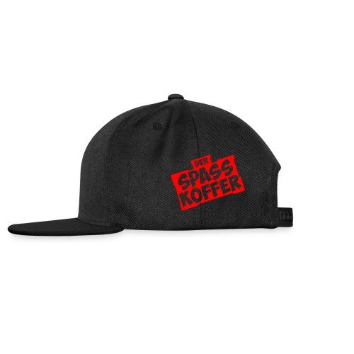 Der Spasskoffer in Rot - Snapback Cap