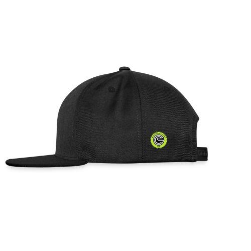 Logo GCC verde fluo errea senza contorno png - Snapback Cap