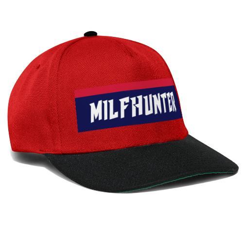 MILFHUNTER Premium Logo - Snapback Cap