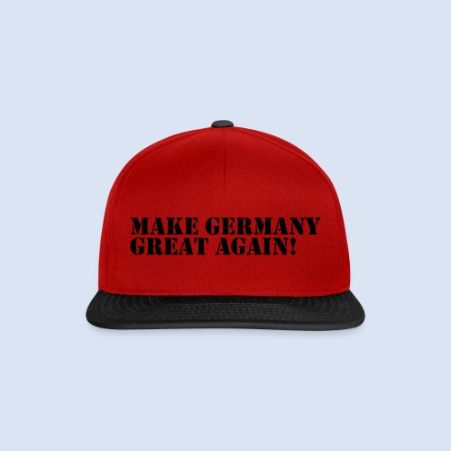 Make Germany Great Again - Donald Trump Design - Snapback Cap
