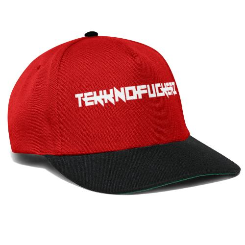 Tekknofuckerz Weiss - Snapback Cap