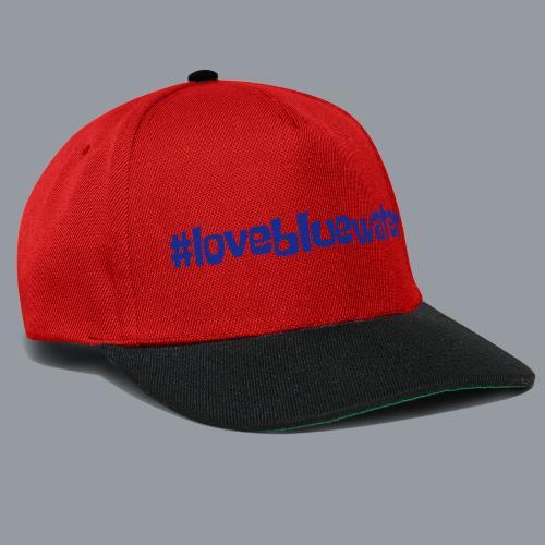 #lovebluewater - Snapback Cap