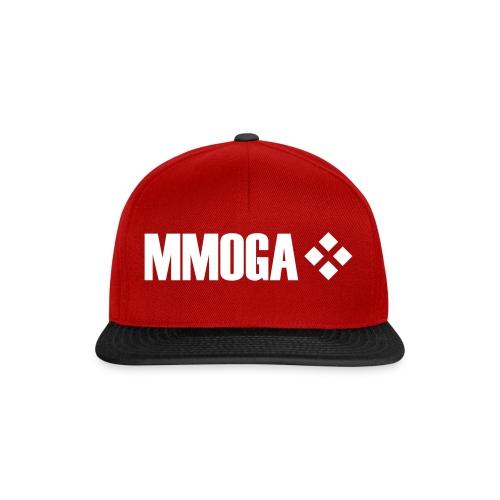 mmoga-logo-white-8817x2008-vector - Snapback Cap