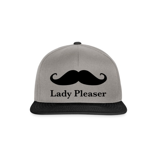 Lady Pleaser T-Shirt in Green - Snapback Cap
