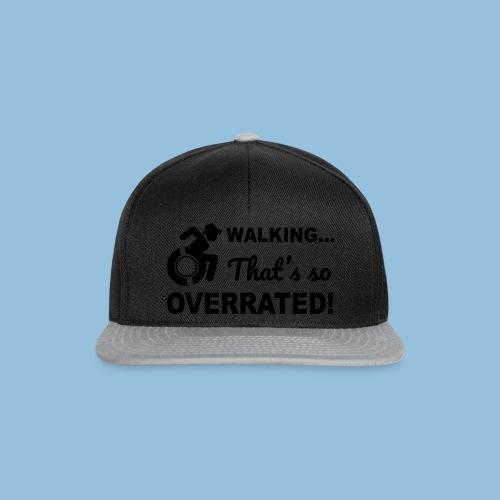Walkingoverrated2 - Snapback cap